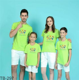 áo thun gia đình năng động ngày hè 4 giá sỉ