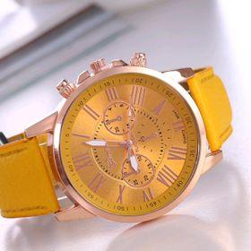 Đồng hồ dây da mẫu mới nhất giá sỉ 45k đồng hồ đẹp giá sỉ