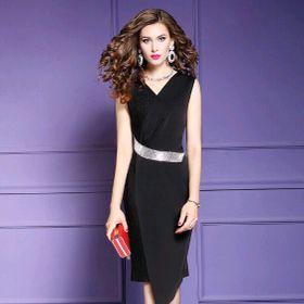 Đầm phụ kiện eo đẹp giá sỉ