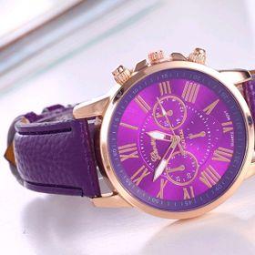 Đồng hồ dây da mẫu mới nhất giá sỉ 45k đồng hồ đẹp rẻ giá sỉ