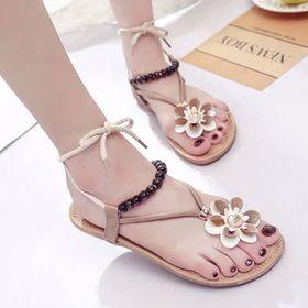 Giày sandal hoa cute giá sỉ