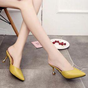 Giày cao gót bít mũi gót nhọn giá sỉ