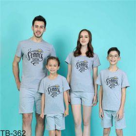 áo thun gia đình năng động 5 giá sỉ