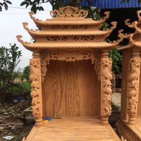 bàn thờ ông địa mái chùa giá sỉgiá buôn giá sỉ