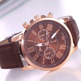 đồng hồ đeo tay có sẵn pin nhiều màu dây da hàng siêu đẹp Giá sỉ 45k giá sỉ