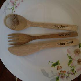 Bộ dao thìa nĩa bằng tre giá sỉ