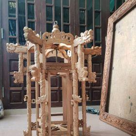 Lòng đèn Cung Đình làm bằng gỗ kiền giá sỉ