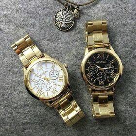 Đồng hồ mạ vàng nam nữ giá sỉ