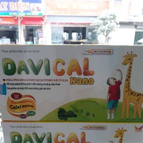 canxi Davical nano hộp 20 ống giá sỉ