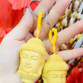 Móc khóa đầu Phật giá sỉ