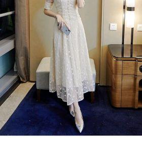 Đầm ren tiểu thư cao cấp hàng đẹp giá sỉ