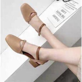 Giày sandal 3p tiểu thư quay ngang giá sỉ