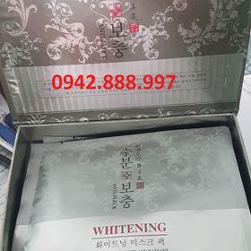 Mặt nạ cao cấp Whitening Anti Fleck Hàn quốc hộp 10 miếng giá sỉ