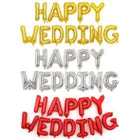 Bộ Bóng Chữ Happy Wedding Trang Trí Phòng Cưới giá sỉ