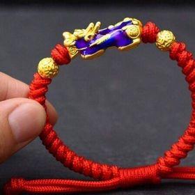 vòng tay chỉ đỏ may mắn tết tì hưu đổi màu giá sỉ