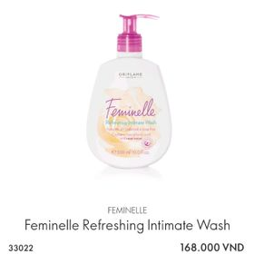 Dung dịch vệ sinh phụ nữ Feminelle Refreshing Intimate Wash giá sỉ