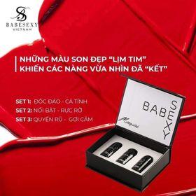 Set son mini babesexy- fullbox tặng kèm nước hoa mini giá sỉ