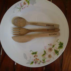 Dụng cụ bàn ăn bằng tre giá sỉ