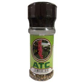 Tiêu trắng hạt ATC chai 50g nắp cối xay giá sỉ