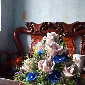 bình hoa hồng tiền giấy giá sỉ