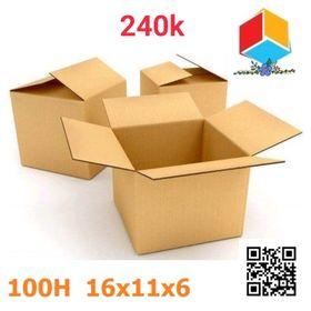 100 thùng carton 16-11-6 giá sỉ