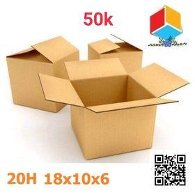20 thùng carton 18-10-6 giá sỉ