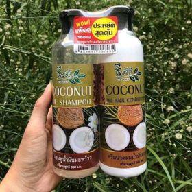 Bộ dầu gội và dầu xả dừa non Thái Lan giá sỉ