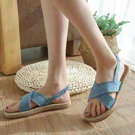 Giày sandal nữ màu sac giá sỉ