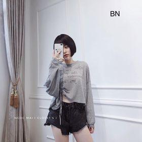 áo thun nữ đẹp kiểu hàn quốc dễ thương giá sỉ phông giấy croptop rút eo BN 43375 Kèm Ảnh Thật giá sỉ