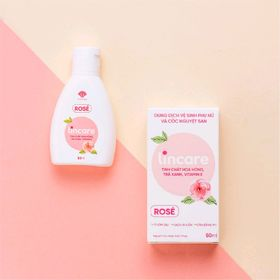 Dung dịch vệ sinh phụ nữ và vệ sinh cốc nguyệt san LINCARE ROSE giá sỉ