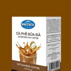 Cà phê sữa đá MACCACA giá sỉ