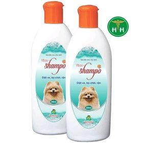 Sữa tắm Shampo 300ml - Diệt ve rận bọ chét chó và thú cảnh giá sỉ