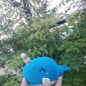 móc khóa cá voi xanh giá sỉ