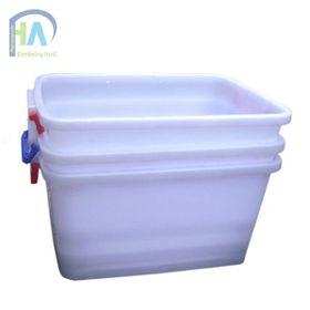 Phú Hòa An chuyên sản xuất thùng nhựa vuông 30L có nắp giá tốt giá sỉ