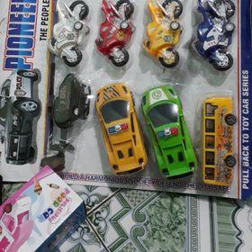 Đồ chơi trẻ em vỉ xe lớn 12 chiếc dạng trớn ngược siêu đẹp dễ bán lẻ giá sỉ