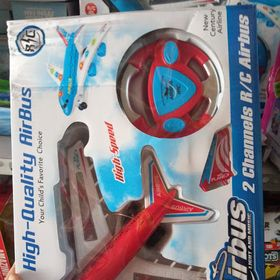Đồ chơi trẻ em máy bay điều khiển có nhạc có đèn chạy pin siêu nhanh giá sỉ