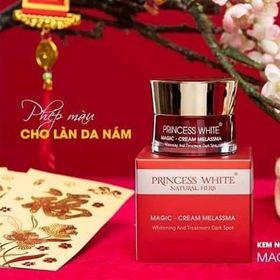 magic cream melasma princess white giá sỉ