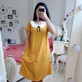 váy bầu cổ bèo bi giá sỉ