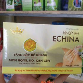 Echina Kingphar - tăng sức đề kháng viêm họng ho cảm cúm giá sỉ