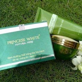 body dưỡng trắng da trà xanh princess white giá sỉ