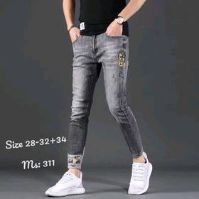 Quần Jeans Nam thêu có size 34 giá sỉ