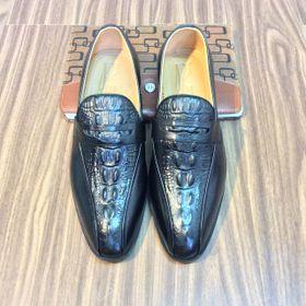 Giày Nam công sở da vân cá sấu cao cấp SC400 giá sỉ