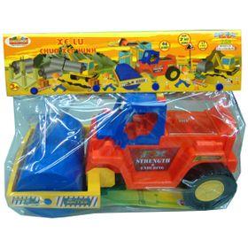 Đồ chơi trẻ em xe lu chứa lắp ráp hàng nhựa chợ lớn giá sỉ