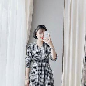 váy caro giá sỉ