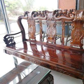 Bộ bàn ghế gỗ tràm giá sỉ