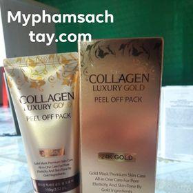 Mặt Nạ Vàng Collagen Luxury Gold Hàn Quốc giá sỉ