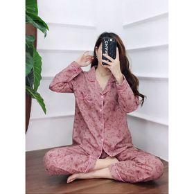 Bộ đồ pizama quần dài áo dài giá sỉ
