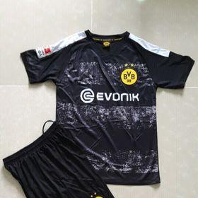 bộ đồ đá banh Dortmund 1920 - Đen giá sỉ