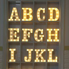 Đèn LED Chữ Cái Trang Trí Tiệc giá sỉ