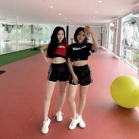 Áo croptop thể thao cá tính tập gym yoga cao cấp siêu mát Sportswears giá sỉ